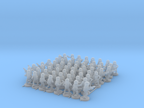 Pill Bot Infantry in Smooth Fine Detail Plastic