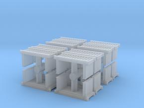 Roller Conveyor (x16) 1/285 in Smooth Fine Detail Plastic
