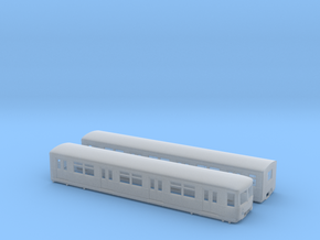 BR 477 Mod + BR 877 H0 [2x body] in Smooth Fine Detail Plastic
