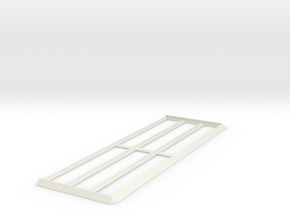 Movement Tray [30 Models] 10x3 for 20mm Square in White Natural Versatile Plastic