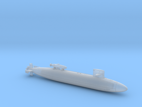 USS PINTADO FH - 700 - hollow in Smooth Fine Detail Plastic