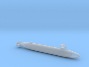 USS NARWHAL FH - 700 - hollow in Smooth Fine Detail Plastic