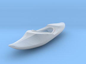 O Scale Kayak in Smooth Fine Detail Plastic