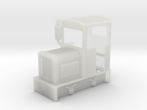 35:1 scale diesel Loco  in Smooth Fine Detail Plastic