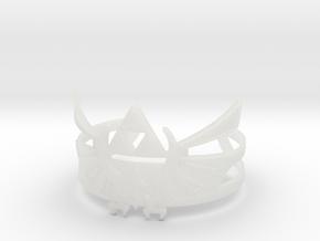 Zelda Bracelet in Smooth Fine Detail Plastic