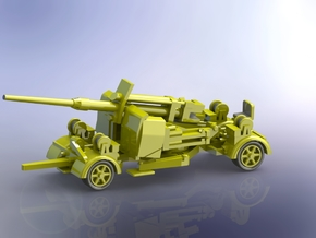 8,8cm Flak 41 moving 1/144 in Smooth Fine Detail Plastic