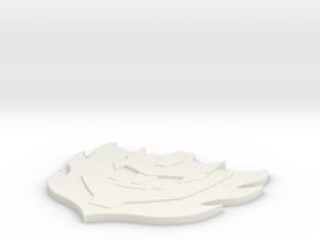 Rodimus star in White Natural Versatile Plastic