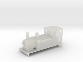 009 Large 0-6-0t in Smooth Fine Detail Plastic