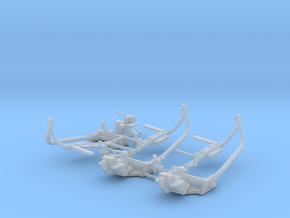 3x 1/16th detailed MG cupula support in Smooth Fine Detail Plastic