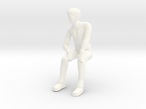 Lost in Space J2 Don Seated Casual - M in White Processed Versatile Plastic