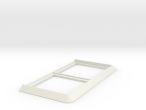 Movement Tray [2 Models] 2x1 for 40mm Square in White Natural Versatile Plastic