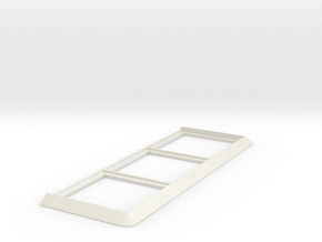 Movement Tray [3 Models] 3x1 for 40mm Square in White Natural Versatile Plastic