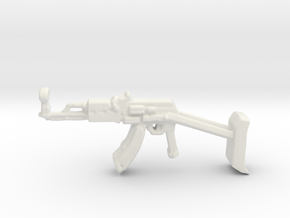 AK47 sprut in White Natural Versatile Plastic