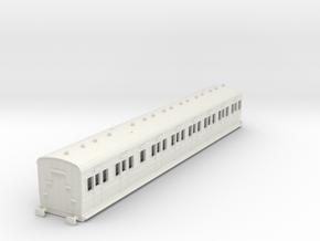 o-87-sr-lswr-d286-pushpull-trailer-coach-1 in White Natural Versatile Plastic