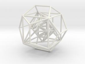 Platonic Solids - nested in White Natural Versatile Plastic