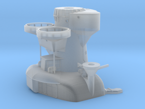 1/200 IJN Yamato Aft Tower Superstructure in Smooth Fine Detail Plastic