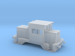 NSWGR N Scale X200 Rail Tractor in Smooth Fine Detail Plastic