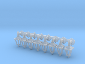 Street lamp 02. 1:72 scale  x8 Units in Smooth Fine Detail Plastic