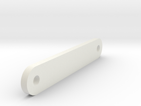 Servoholder - Magic Vee in White Natural Versatile Plastic