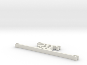 hrm6 part mount  in White Natural Versatile Plastic