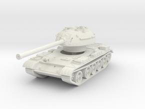 T-54-3 Mod. 1951 1/56 in White Natural Versatile Plastic