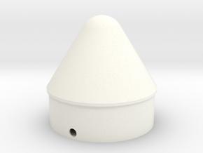 Outlander Cone for BT-60 in White Processed Versatile Plastic