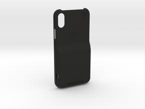 iPhone X LooplyCase™ with RileyLink Inlay in Black Natural Versatile Plastic