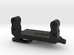 Servo On Axle 4 Link for Redcat XR247 Axles in Black Natural Versatile Plastic