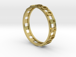 SKM_part5_Ring in Natural Brass