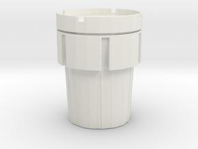 Hazmat Salvage Drum 1/24 in White Natural Versatile Plastic