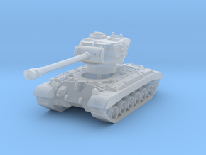 M26 Pershing (skirts) 1/220 in Smooth Fine Detail Plastic