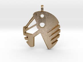 Air Bohrok Pendent in Polished Gold Steel
