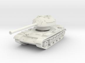 T-54 Mod. 1953 1/100 in White Natural Versatile Plastic
