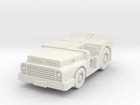 MD-3 Tow Tractor 1/43 in White Natural Versatile Plastic