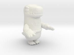 Fallguys Dinosaur miniature model figure games rpg in White Natural Versatile Plastic