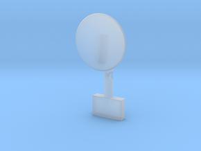 S Band antenna -Grumman model in Smooth Fine Detail Plastic