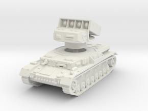 Panzer IV Raketenwerfer 1/76 in White Natural Versatile Plastic