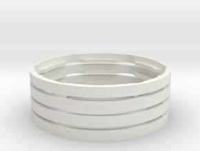 Ring-Beadlock-2.2-full-X4 in White Natural Versatile Plastic