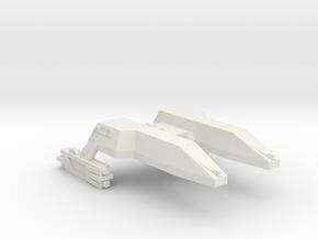 3125 Scale LDR Heavy Destroyer (HDD) CVN in White Natural Versatile Plastic
