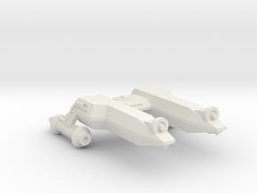 3125 Scale LDR Frigate Scout (FFS) CVN in White Natural Versatile Plastic