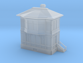 Railway Signal Tower 1/100 in Smooth Fine Detail Plastic