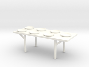 Lost in Space Equipment - Table in White Processed Versatile Plastic