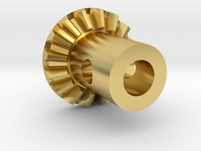Make It RC 16 Tooth Ring Gear for MA10 Axle in Polished Brass