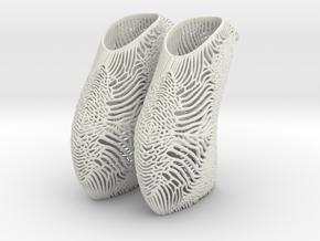 Mycelium Shoes Women's US Size 5 in White Natural Versatile Plastic
