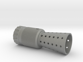 FLASH HIDER hero (ANH) in Gray PA12