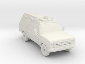 1984 Ambulance 1:160 Scale in White Natural Versatile Plastic
