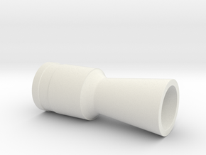 flash hider ESB(Hoth) in White Natural Versatile Plastic