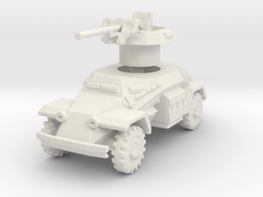 Sdkfz 221 2.8cm sPzB 41 1/120 in White Natural Versatile Plastic