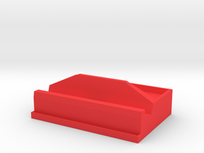 Nintendo Switch Dock with Tray & Game Rack in Red Processed Versatile Plastic