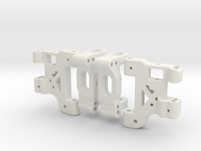 MO30 - Advanced front suspension for Tamiya TL-01 in White Natural Versatile Plastic